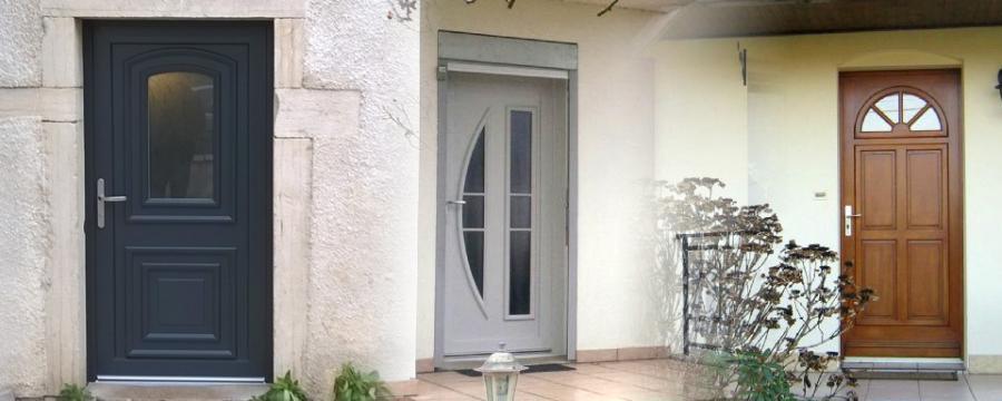 Pose de portes d'entrée en Rhône Alpes