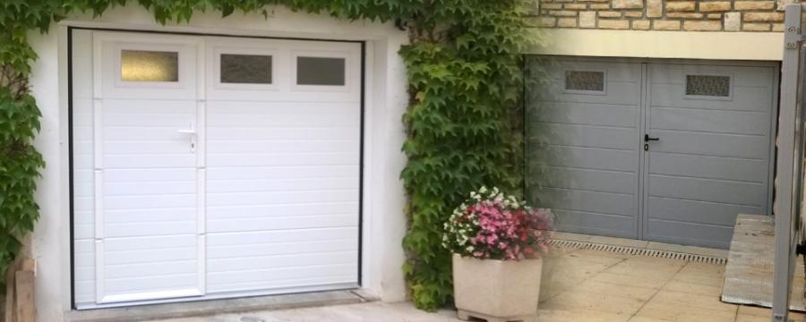Pose de portes de garage en Haute-Savoie